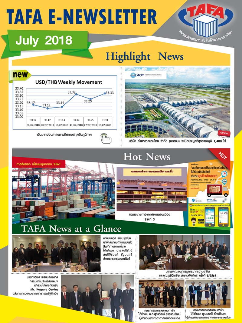 TAFA Newsletter no.7
