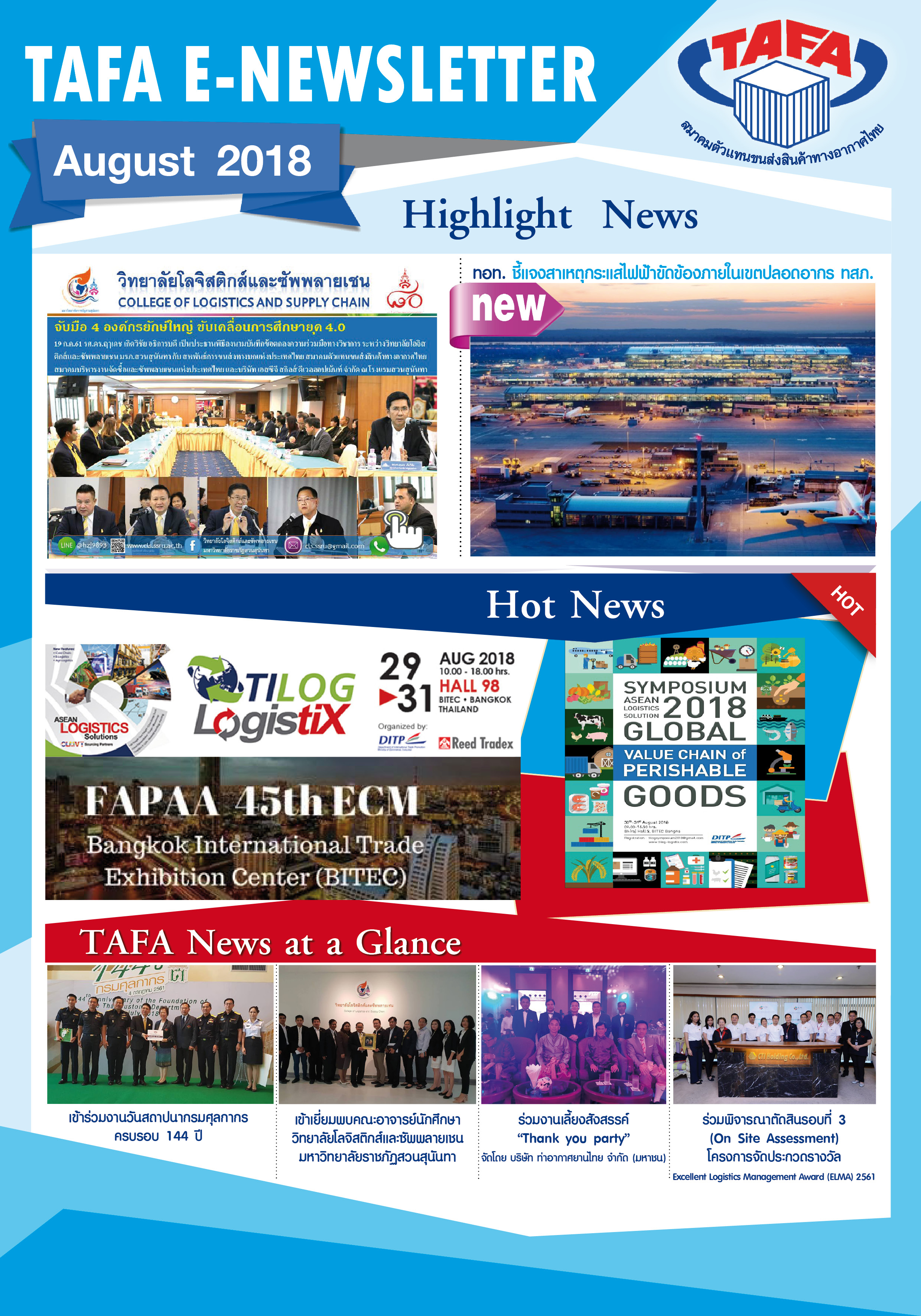 TAFA Newsletter no.8