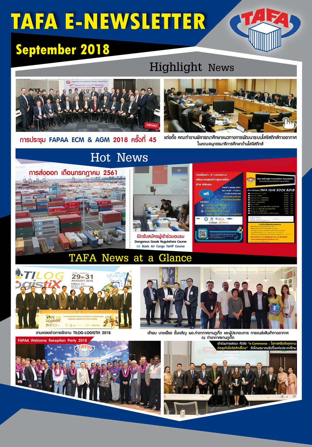 TAFA Newsletter no.9
