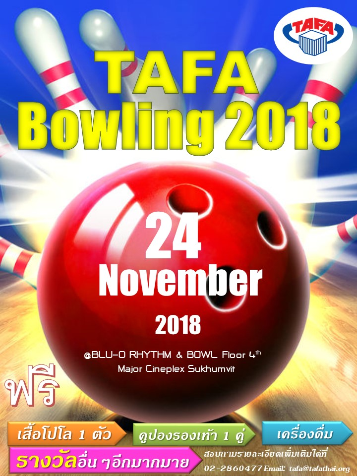 TAFA Friendship Bowling 2018