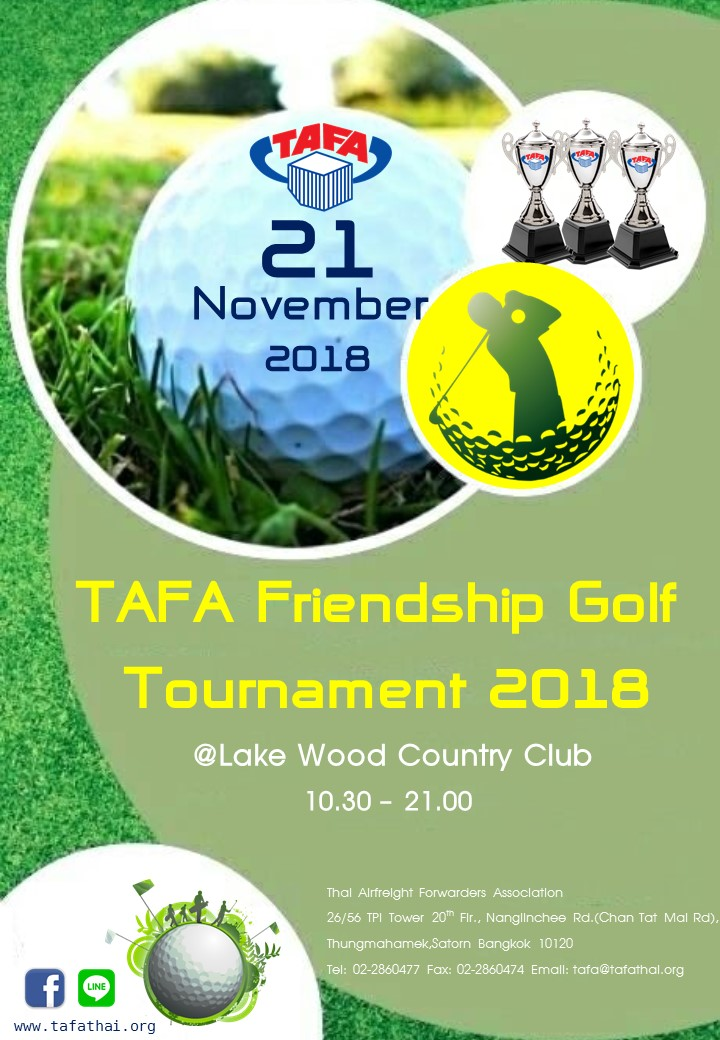 TAFA Friendship Golf Tournament 2018