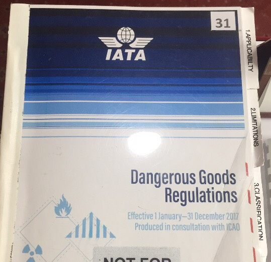 Dangerous Goods Regulations Manual 2019  60th Edition